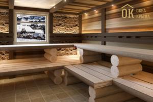 Как выбрать деревянные окна для бани