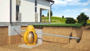 Проведение канализации в загородном доме под ключ