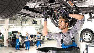 Услуги по ремонту и обслуживанию Volkswagen