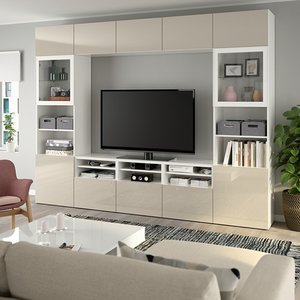 Разновидности стенок под телевизор