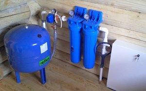 Монтаж систем водоснабжения частного дома
