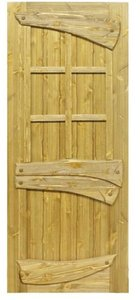 Деревянные двери из массива сосны в Вологде