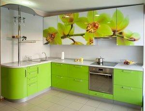 Кухня с угловым гарнитуром в Череповце
