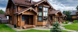 Сборка домов из бревна