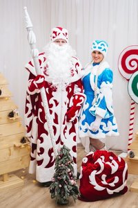 Главный волшебник Дед Мороз и его внучка Снегурочка придут к Вам домой поздравить ребёнка с Новым годом!