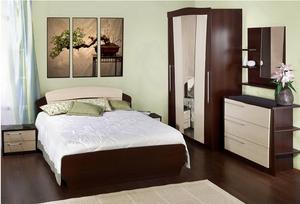 Купить спальни в маленькую комнату можно в ателье – Ателье Мебели!