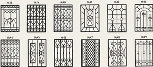 Решетки на окна и двери на заказ от компании «Технометалл»