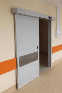 Герметичные медицинские автоматические двери