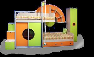 Купить безопасную детскую кровать в Череповце