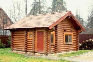 Заказать строительство бани из бревна под ключ в Череповце