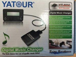 MP-3 / USB АДАПРОРЫ YATOUR на все виды штатных автомагнитол (уточнять у продавца)