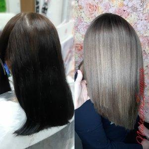 Окрашивание волос: выход из черного