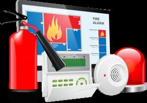 Установка охранно пожарной сигнализации