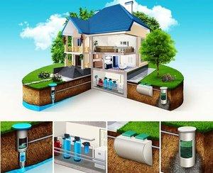 Канализация домов для комфортного проживания