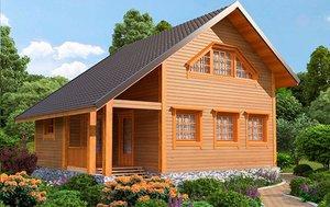 Заказать дом из бруса в Череповце