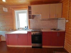 Кухонный гарнитур для дачи или в деревянный дом