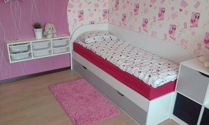 Детская кровать с ящиками на заказ