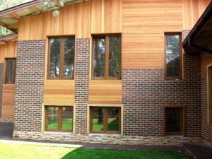 Наружная отделка деревянных домов