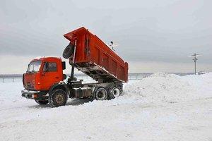 Выполняем работы по вывозу снега. Обращайтесь!
