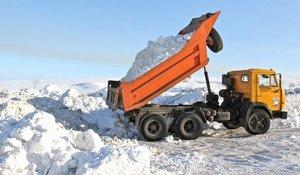 Вывоз снега с любых территорий в Вологде
