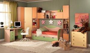Изготовление мебели для детской комнаты