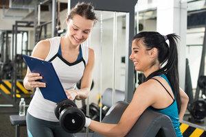 Вас ждет коллектив профессиональных фитнес-тренеров
