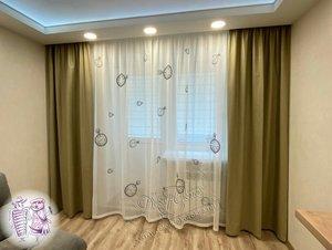 """Стильные шторы и тюли в салоне """"Декор окна"""""""