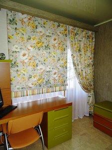 Пошив штор в спальню на заказ в Вологде