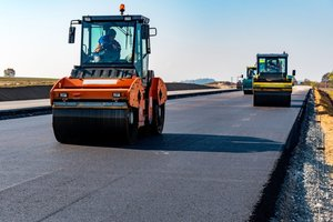 Оперативное строительство автомобильных дорог