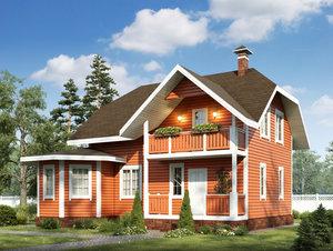 Заказать строительство дома под ключ в Вологде.