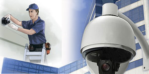 Монтаж систем видеонаблюдения в Орске