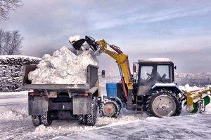 Заказать вывоз снега самосвалами в Вологде