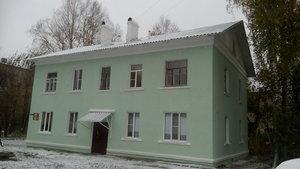 Чистка крыши от снега в Вологде.