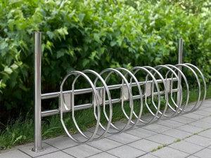Изготовим велопарковку из нержавейки по вашим размерам в Костроме!