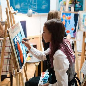 Обучение детей технике рисования в Вологде