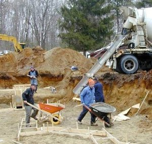 Опалубка как важная часть бетонных работ