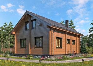 Возведение домов из профилированного бруса в Вологде
