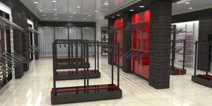 Изготовить мебель для торговых залов в Орске