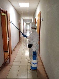 Заключительная дезинфекция помещений при подтвержденных случаях COVID-19