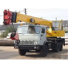 Арендовать автокран на базе КАМАЗа в Орске