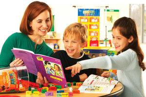 Обучение ЧТЕНИЮ на английском С НУЛЯ для младших школьников!