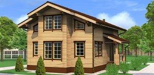 Строительство домов из бруса под ключ Череповец