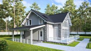 Заказать строительство дома под ключ