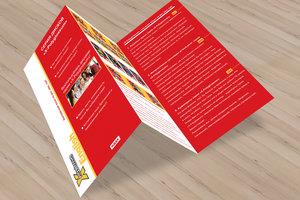 Печать буклетов для рекламы в Вологде