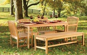 Садовая мебель из сосны и осины в Вологде