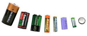 Редкие батарейки в ассортименте