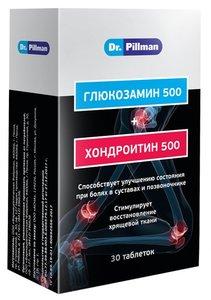 Доктор Пиллман - комплекс для восстановления и поддержания суставов