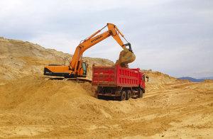 Поставка строительного песка