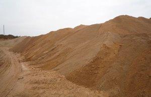 Продажа песка строительного в Вологде