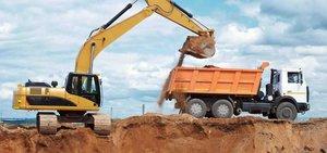 Доставка песка до объекта в Вологде